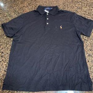Polo Ralph Lauren Short sleeve 3 button Polo Black